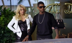 Usher wearing ULTRA Goliath 2